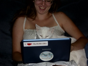Writer & Cat