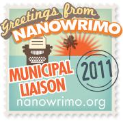 2011 NaNoWriMo Municipal Liaison