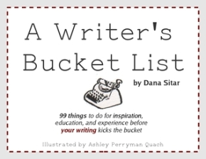 A Writer's Bucket List pic